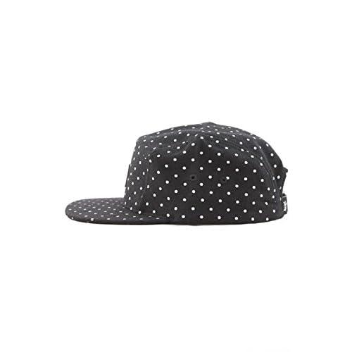 STUSSY(ステューシー) FLANNEL DOT CAMP CAP 帽子 キャップ 132605【stu324】 ワンサイズ BLACK [並行輸入品]