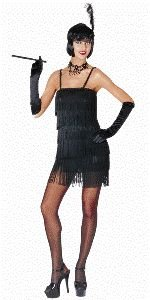 Hot Flapper Adult Halloween Costume Size Small 4-6