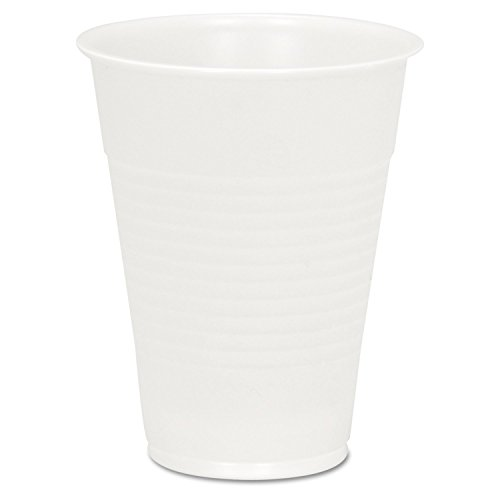 Boardwalk YP-10C Clear Plastic PETE Cups, 10 oz (20 Sleeves of 145)