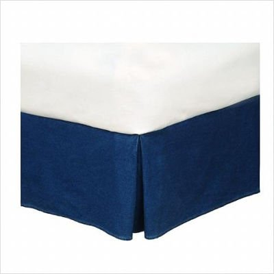 American Denim Bed Skirt Size: California King (Ca King Bed Skirt compare prices)
