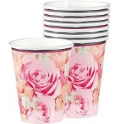 18 Ct. Blossoms Mis Quince Anos 9 Oz. Paper Cups