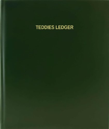 BookFactory® Teddies Ledger - 120 Page, 8.5