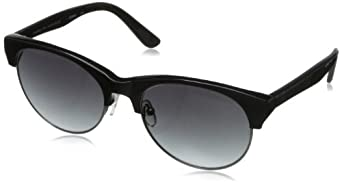 Marilyn Monroe Eyewear Women's MC5008 Cateye Sunglasses,Black & Gunmetal,158 mm