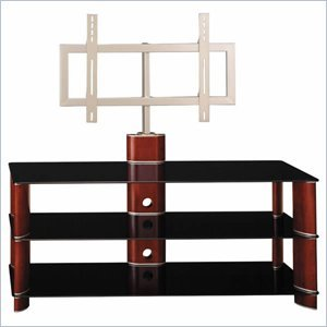 Cheap Bush Segments 50 Inch Wood TV Stand and Audio Rack Set (VS11550A-AD11540A)