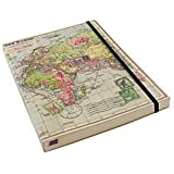 World Map Travel Journal MAP009