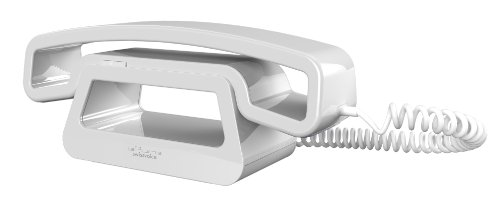 Swissvoice Ch01-Wh Epure Handset For Iphone With Siri Integration And Home Base - White/White