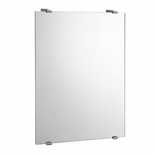 Gatco 1564 Bleu Minimalist Wall Mirror, Satin Nickel front-973872