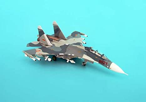 SU-27UB maquette avion échelle 1:200 Vietnamese People's Air Force