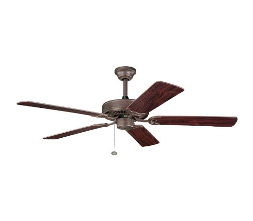 Kichler Lighting 339010TZ Sterling Manor Select 52-Inch Ceiling Fan, Tannery Bronze
