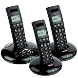 BT Graphite 1500 DECT Telephone Trio Black