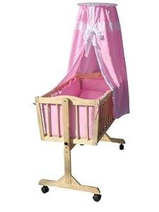 stubenbett babywiege wiege bett baby. Black Bedroom Furniture Sets. Home Design Ideas