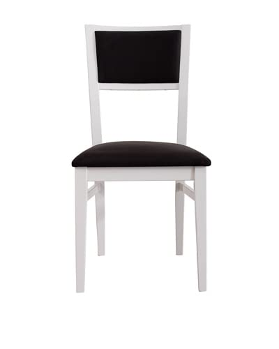 Urban Spaces Chicago Side Chair, White