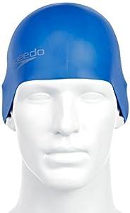 Speedo Erwachsene Badekappe Moud Cap AU, Blue, One size, 8-709842610