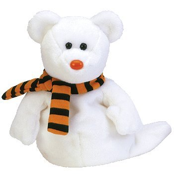 TY Beanie Baby - QUIVERS the Ghost Bear