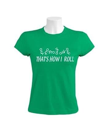 Green Turtle Thats How I Roll Women Green Xx