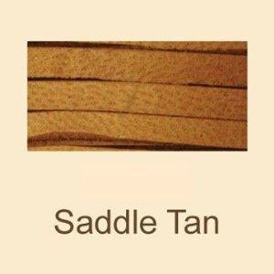 """Saddle Tan Deerskin Lace - 3/16"""" X 50 Ft Spool"""