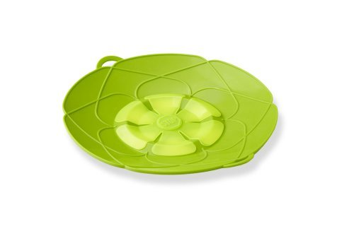 Kuhn Rikon Kochblume Spill Stopper, Small, 10-Inch, Green Color: Green Size: 10-Inch Home & Kitchen