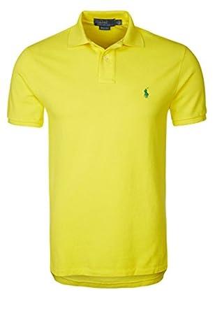 Hommes SLIM FIT Polo jaune | Polo Ralph Lauren | Intelligent Nouveau Hiver 2014 - 2015 Vêtements Pour Hommes Classique FR S'adapter Excessif de (S)