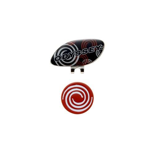 ODYSSEY(オデッセイ) 2014年 Graphic Marker グラフィック クリップマーカー カラー ブラック/レッド JM 5936221
