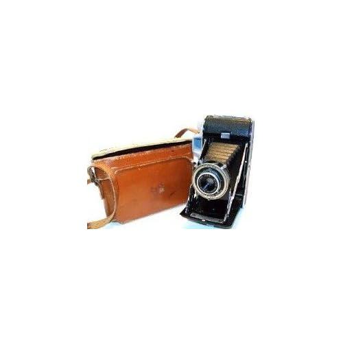 Vintage Kodak Tourist Folding Land Camera With Case