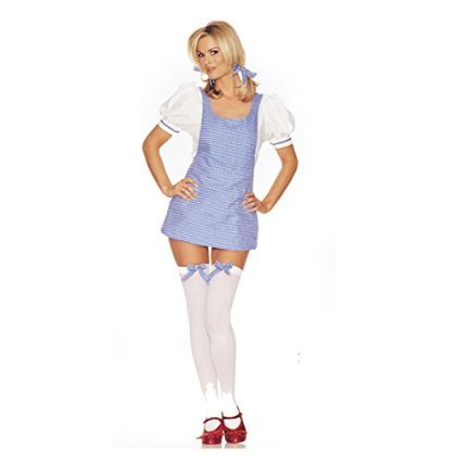 LA8927 (Small/Medium) Dorothy Apron Dress Sexy Costume