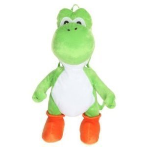 Nintendo Super Mario Bros. Yoshi Plush Backpack (18 Inch)