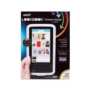 Shift3 Lookbook Wireless eReader with 150 Bonus Books
