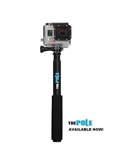 The Pole - Telescoping Camera Pole. Gopro Hero 3 Compatible