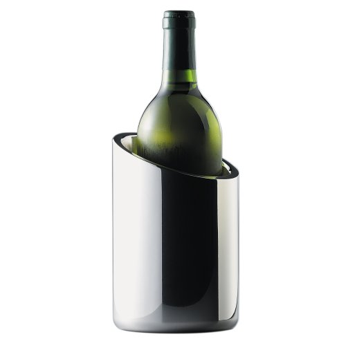 Nambé 7-inch Wine Chiller (Angled Wine Cooler compare prices)