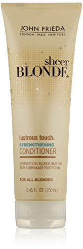 John Frieda U-Hc-6748 Sheer Blonde Lustrous Touch Strengthening Conditioner 8.45 Oz Conditioner U-HC-6748