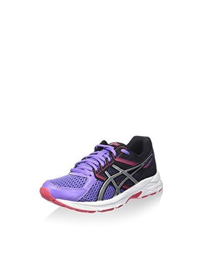 Asics Zapatillas de Running Gel-Contend 3 Rosa / Blanco / Burdeos