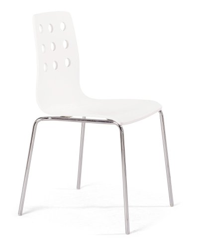 FEATURED Zuo Modern 9 Dragons Dining Chair White