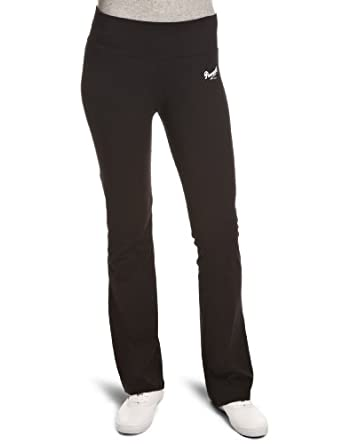 Pineapple Women's S Dance Flared Sports Trousers, Black, Size 14 (Manufacturer Size:Large)