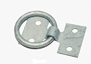 Galvanized Dock Ring, 1/4