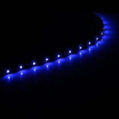 Ty0.3M 15X1210Smd Cool White\Blue Light Led Waterproof Flexible String Light (Dc 12V) , Cold White