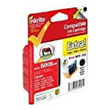 Inkrite Compatible Canon CLI-8BK Black Ink Cartridge - Inkrite canon IP4200 4300 5200R 6600D MP500 MP530 (CLI-8BK black with chip) (Horse)