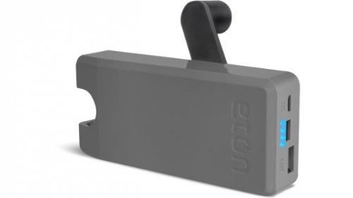 Eton BoostTurbine 2000mAh Portable Backup Battery Pack with Hand Crank Back-Up Power (NBOTU2000S)