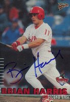 Brian Harris, Reading Phillies - Phillies Affiliate, 2000 Multi-Ad Sports Autographed Card