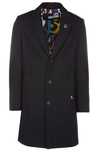 Love Moschino cappotto uomo in lana originale nero EU 48 (UK 38) M K 129 80 T 8615 C7