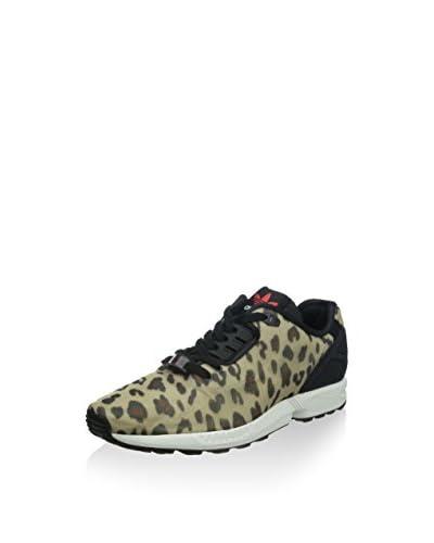 adidas Originals ZX Flux Decon B23725, Herren Low-Top Sneaker, Mehrfarbig (Dust Sand S15-ST/Core Sch...