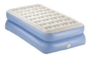 AeroBed Classic Double-High Mattress with Pump, Twin