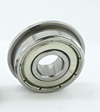 FR166ZZ Shielded Flanged Bearing 316quotx38quotx18quot inch