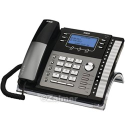 RCA 4-Line Expandable Phone System with Speakerphone & Call Waiting Caller ID (Model# 25424RE1-A)