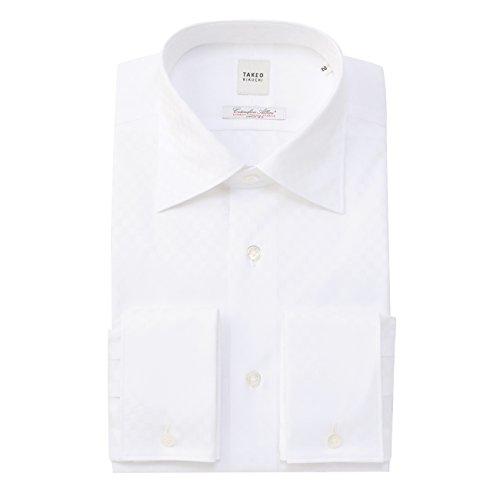 (タケオ キクチ)TAKEO KIKUCHI アルビニシャドーブロックチェックシャツ ホワイト(001) 01(S)