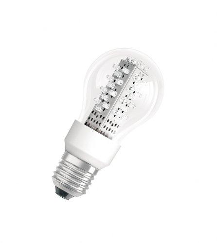Osram 26801B1  Parathom LED Classic A, E27 80061-01 klar LED-Lampe in Glühlampenform 2.3W/100V-240V, warmweiß