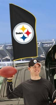 NFL Pittsburgh Steelers Tailgate Flag