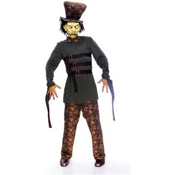 Paper Magic Men's Wicked Wonderland Mad Hatter Costume