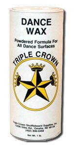 Triple Crown Dance Floor Ballroom Powdered Wax - 1 can (Dance Floor Wax compare prices)