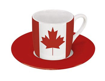 Canada - Espresso Cup and Saucer