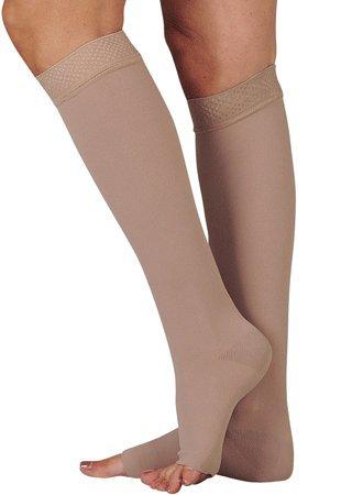 Juzo 16937 30-40 mmHg, Dynamic, Knee, OT, Silicone, 5cm - Size I (Color: beige, Tamaño: 1 (I))